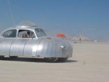 Burning Man Car